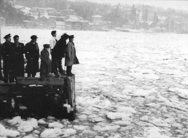 İstanbul Boğazı ve Haliç daha önce birçok kez dondu.