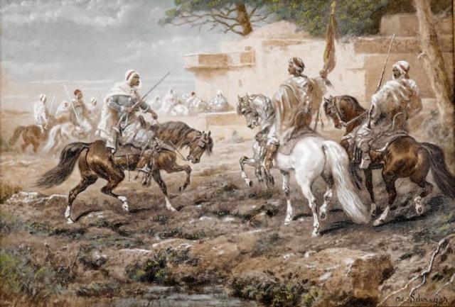 """Tilimsan kentinin kudretli Ziyani emiri Ebu Hammu, Bijaya üzerinde hak iddia ediyordu. Kardeşi Yahya'nın hapse atıldığını ve tüm mallarına el konulduğunu öğrenen Ebu Hammu, İbn Haldun'a bir mektup yazarak kendi sarayına gelmesini ve mülkünü geri almak için mücadele etmesini teklif ediyordu. Vaziyeti belirsiz olarak değerlendiren İbn Haldun bu teklifi geri çevirdi. Hapisten yeni çıkmış ve Biskra'ya gelmiş olan kardeşi Yahya'yı gönderdi. """"Unvan ve mevkiden feragat ediyor"""" artık sultanların meselelerine müdahil olmak istemediğini, tüm gayretlerini öğretmeye ve öğrenmeye yoğunlaştıracağını söylüyordu."""