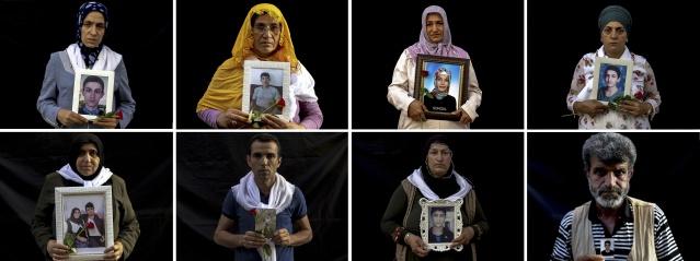 Çocuklarının dağa kaçırılmasında HDP'nin aracı olduğunu söyleyen Diyarbakır anneleri, evlatlarına kavuşma ümidiyle partinin il binası önünde başlattıkları oturma eylemine kararlılıkla devam ediyor.