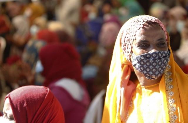 Etiyopya'nın başkenti Addis Ababa'daki Müslümanlar, Hazreti Muhammed'in doğum günü olarak kutlanan Mevlid Kandili dolayısıyla Enver Camisi'nde düzenlenen etkinliklere katıldı.