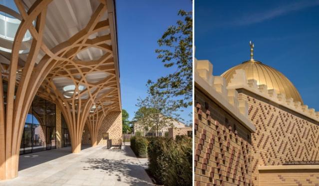 Bu caminin projesi, 2008 yılında 40 yıl önce İslam'ı seçen  Dr. Timothy Winter tarafından tasarlandı. Neredeyse tüm iş - ve inşaat için 23 milyon £ harcandı - hayırseverler tarafından finanse edildi.