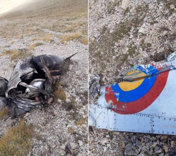 Hacıyev, Ermenistan jetlerinin dağlık alana düştüğünü, patlamanın gerçekleştiğini ve yok olduğunu söyledi.