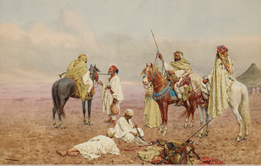 İnziva arayışı  İbn Haldun, Bijaya'da sultandan veya başvekilden hemen sonra gelen başkâtiplik görevine getirildi. Ebu Abdullah, kendisini merasimle karşılamıştı. Ebu Abdullah büyük bir desteğe sahipti ama yönetimindeki hak iddiası Konstantin Valisi olan kuzeni Ebu'l-Abbas tarafından sorguya açık hâle getiriliyordu. Ebu'l-Abbas rakip topraklara ajanlar göndererek kargaşa çıkardı, Ebu Abdullah çaresizce dağlara kaçtı ve peşini bırakmayan Ebu'l-Abbas kuzenini öldürdü. İbn Haldun kaledeyken cereyan eden olaylar sırasında Ebu'l-Abbas'ın dönüşüne kadar adım atmayan kendisini eski konumuna getirdi. Ancak kısa süre sonra İbn Haldun yine bir hile girdabının içine çekildiğini hissetti. Uzun uğraşlar sonucu Ebu'l-Abbas'ın hizmetinden çıkmasına razı gelindi. Ama kısa süre sonra Ebu'l-Abbas fikrinden vazgeçti. İbn Haldun bu teklifi reddetti, kardeşi Yahya hapse atıldı, malı mülkü de müsadere edildi. İbn Haldun Biskra şehrindeki dostlarının himayesine iltica etti.