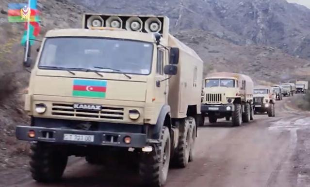 Azerbaycan Savunma Bakanlığı, 28 yıl sonra Ermenistan'ın işgalinden kurtarılan Laçın bölgesinin görüntülerini yayınladı.