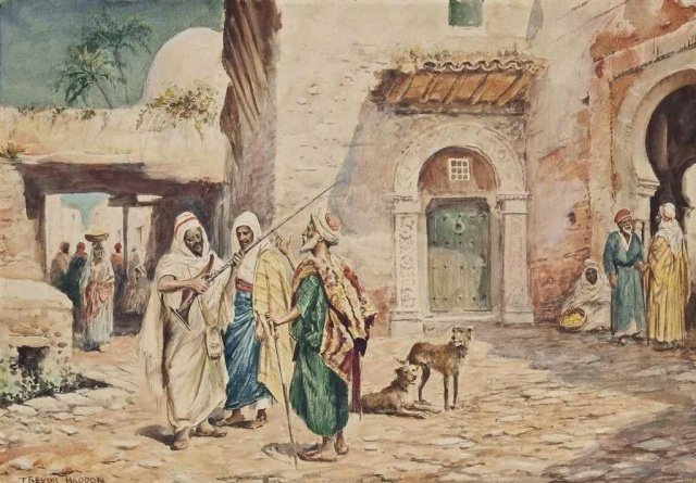 Son durak: Kahire  İbn Haldun, 1382 Ocak ayında Kahire'ye adım attığında, şehirdeki çeşitlilik ve zenginlik göz kamaştırıcıydı. Nüfusu yaklaşık beş yüz bindi. İbn Haldun'un Mısır'dan etkilenmesi ve hayatının sonuna kadar orada yaşamak üzere şehre yerleşmiş olması Mağrib kimliğinden vazgeçtiği ya da Maliki mezhebiyle bağını kestiği manasına gelmiyordu. Kuzey Afrika kadı cübbesini giymeye devam ediyordu. Muhtemelen kendini ayrıştırmanın fark edilmek için en iyi yol olduğunu düşünüyordu. Gelişi Kahire'nin ilmi ve dini çevrelerinde hareketliliğe sebep olmuştu. Ezher Camii'nde ders okutmak için kolaylıkla bir yer bulmuştu. Dostları sayesinde kısa sürede Memluk sultanının himayesine girmeyi başarmıştı. Memluk Sultanı Berkuk, Tunus'taki Ebu'l-Abbas'a bir mektup yazıp İbn Haldun'un ailesini serbest bırakmasını talep eden bir mektup yazmış ve ailenin Kahire'ye gelmesi için izin verilmişti.