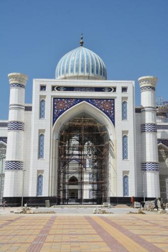 Caminin inşaatının bu yıl tamamlanmasının ardından devlet erkanının da katılımıyla ibadete açılması bekleniyor.   Kaynak: Haber 7