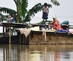 Hindistan'ın Assam eyaletinde sel ve heyelanlarda ölenlerin sayısı 79'a yükseldi