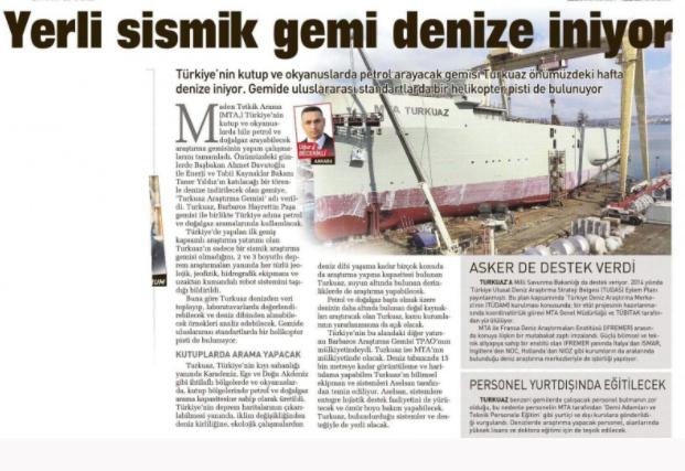 İLK ADIM 'FATİH' İLE ATILDI  Türkiye'nin ilk sondaj gemisine güçlü mirasın yaşatılması ve yeni dönemin başlatılması için Fatih ismi konulurken ilk sefer ise Akdeniz'e yapıldı. Yaz aylarında başlayan sondaj, 2 bin 600 metre derinliğinde gerçekleştirildi. Ardından Karadeniz'de de sondaj çalışmaları için adım atıldı ve ikinci gemi de TPAO'nun portföyüne katılmış oldu.  'Fatih'in ardından ikinci sondaj gemisi olan Yavuz da Kocaeli'nin Dilovası ilçesindeki limandan 20 Haziran 2019 tarihinde yola çıktı ve temmuz ayında da sondaj çalışmalarına başladı.  10 ÜLKE ARASINA GİRDİK  'Fatih' ve 'Yavuz' ile yürütülen derin sondaj çalışmalarına Kanuni, Barbaros Hayrettin Paşa ve Oruç Reis isimli sismik gemiler de eşlik etti. Türkiye sondaj tarafında satın aldığı gemiler ve attığı adımlarla çok kısa süre içerisinde derin denizlerde sondaj yapabilme kabiliyetine sahip dünyadaki 10 ülke arasına girdi.