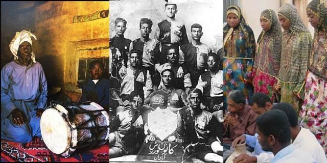 Eski İslamî edebiyatta Etiyopya'ya Habeş denildiğinden dolayı, İran'a götürülen bu kölelerin birçoğu Habeş kökenli olduklarını göstermek için Habeşî soyadını seçmişlerdir. Zanzibar'dan (Zengibar'dan) götürülen köleler ise Zanzibarî (Zengibarî) soyadını tercih ettiler.
