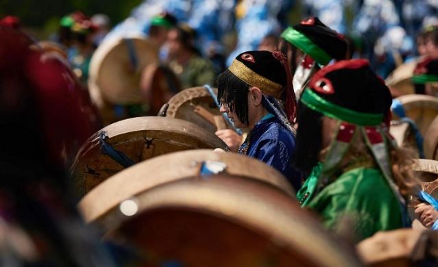Rusya'nın ilk şaman festivalinden ilginç görüntüler
