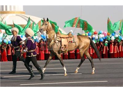 Türkmenistan'da 1992 yılından beri Nisan aylarının son haftasında At Bayramı yapılıyor.
