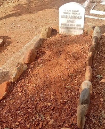 Gırnata'da müslüman mezarlığı...