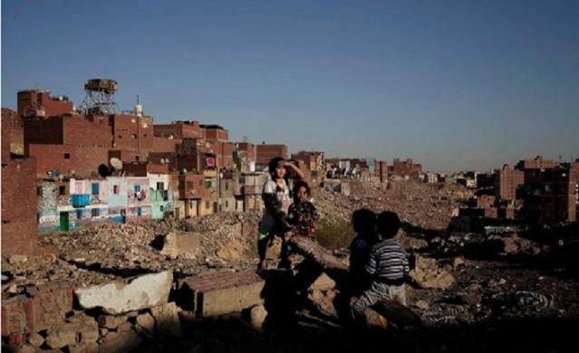 eski Kahire'de bakım bekleyen mahalleler