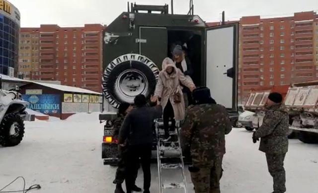 Kazakistan'da kar fırtınası sebebiyle olağanüstü hal ilan edildi