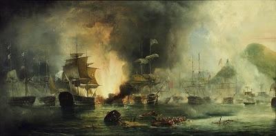 Navarin Baskını, denizcilik tarihi bakımından da önemli bir dönüm noktasını oluşturmaktadır. Bu baskın, yelkenli donanmaların giriştiği son büyük savaş oldu. Bundan sonra denizcilikte yeni bir çağa girilmiş ve artık buharlı gemiler çağı başlamıştır.  Yunan tarihi ile Osmanlı denizcilik tarihinin en önemli çakışma noktalarından biri,  Yunanistan'ın Navarin Limanı'nda bulunan Osmanlı donanmasının, 1827 yılında İngiliz, Fransız ve Rus donanmalarının ortak harekâtıyla beklenmedik bir biçimde baskına uğratılarak yok edilmesidir.