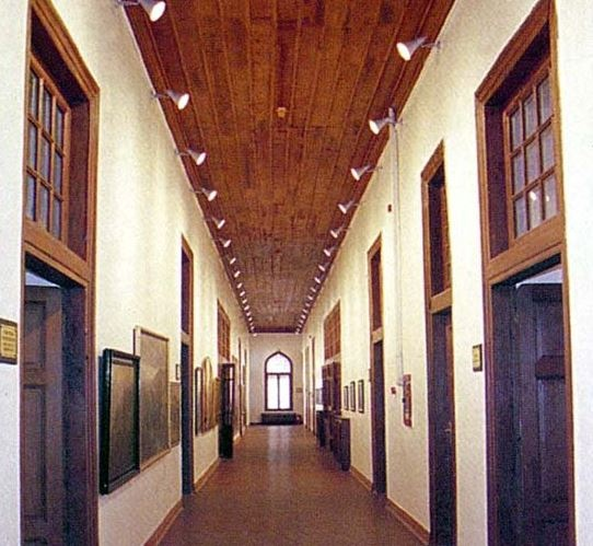 İstiklâl Savaşı müzesi koridoru. Ulus-Ankara