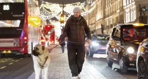 Sivas Kangalı Londra sokaklarında