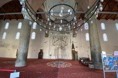 İzmir'in Selçuk ilçesinde tarihi bir cami... İsa bey Camii