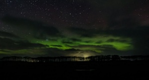 Gökyüzünde görsel şölen: Kuzey Işıkları