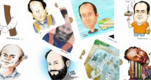 Dünya Karikatürcüler Birliği (UWC) Asım Gültekin'i çizdi