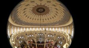 Balık gözünden Eyüp Sultan Camii