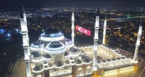 Çamlıca Camii açıldı