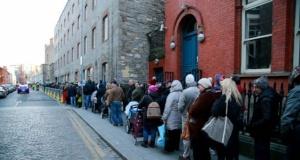 Dublin'de yoksulluk ve evsizlik