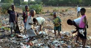 Afrika'nın bir noktasında gündelik hayattan kareler
