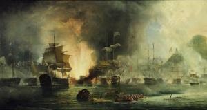 Navarin'de Osmanlı donanmasının yakıldığı gün..