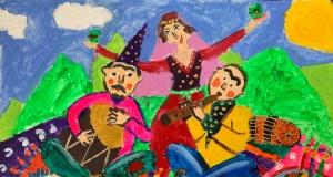 Türk dünyasının gelenek ve görenekleri resim yarışması sona erdi