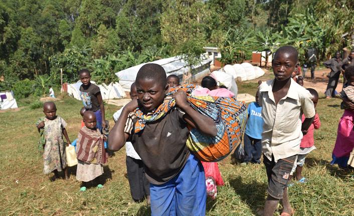 7 bin 500 Kongolu Uganda'ya kaçtı
