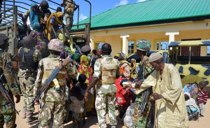 95 Nijeryalı rehine Boko Haram'ın elinden kurtarıldı