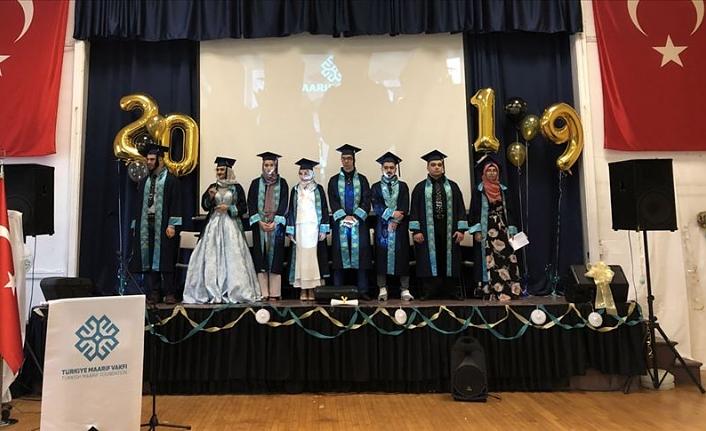 ABD'deki Maarif Okulu ilk lise mezunlarını verdi