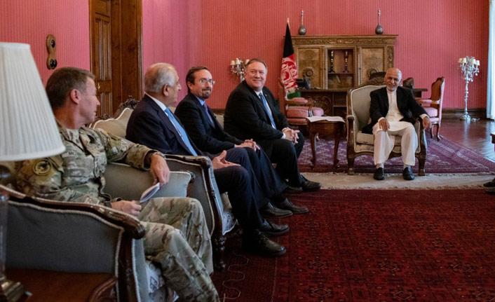 ABD Dışişleri Bakanı Pompeo Afganistan'da