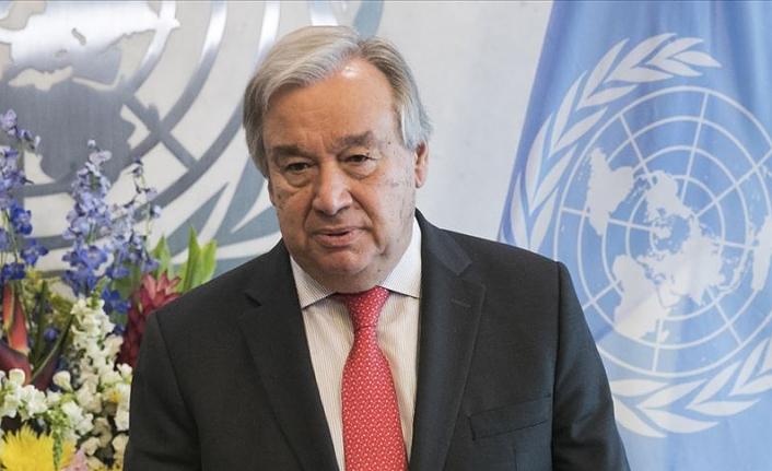 BM Genel Sekreteri Orta Doğu'da iki devletli barış çağrısını yineledi