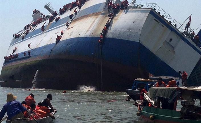 Endonezya'da tekne faciası: 15 ölü