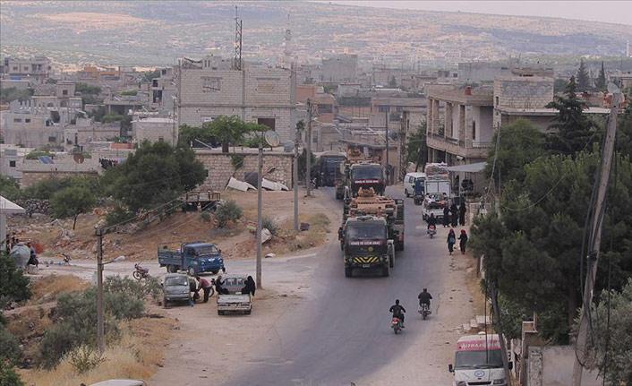 İdlib'de TSK gözlem noktasının yakınını hedef alındı