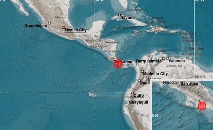 Panama'da 6,2 büyüklüğünde deprem