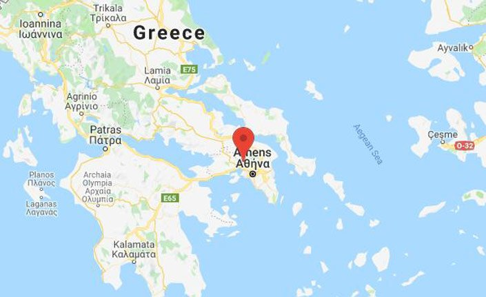 Atina'da 5.3 şiddetinde deprem