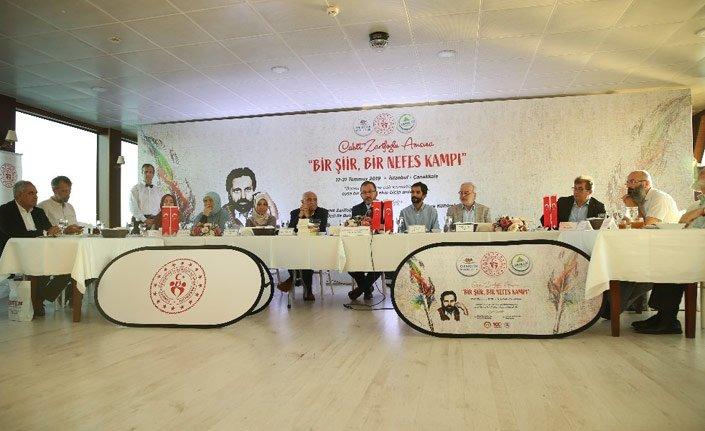 Cahit Zarifoğlu anısına 5 günlük tematik kamp başladı
