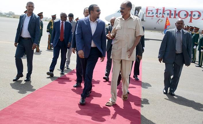 Etiyopya Başbakanı Ahmed'in Eritre'ye sürpriz ziyaretinde Tigray ayrıntısı