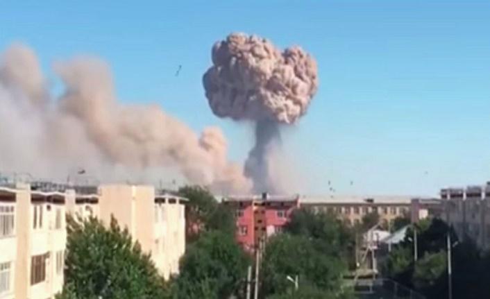 Kazakistan ordusuna ait depodaki patlamalar sonrası komutan ve yardımcısı tutuklandı