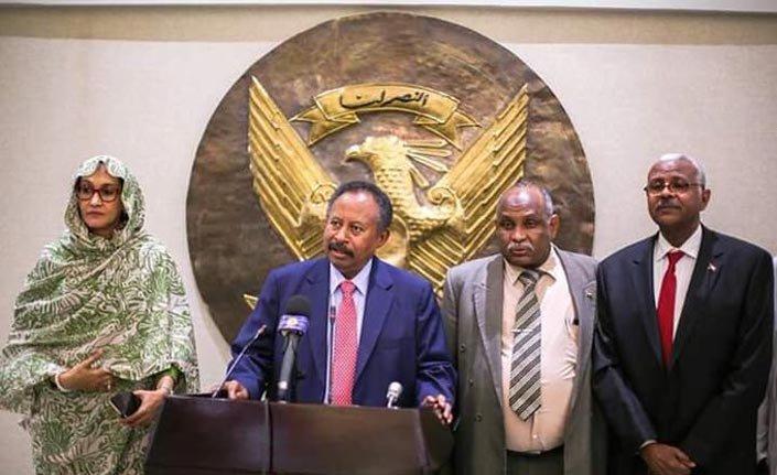 Sudan Başbakanı Hamduk'un ilk konuşması