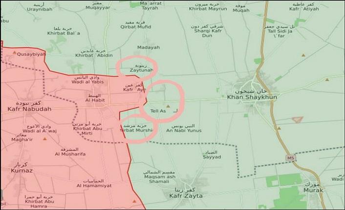 TSK'nın Morek üssü yakınında Esed güçlerinden yeni bir kuşatma alanı