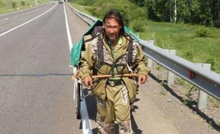 Putin'i kovmak için yola çıkan Yakut Şaman psikiyatri servisine yatırıldı