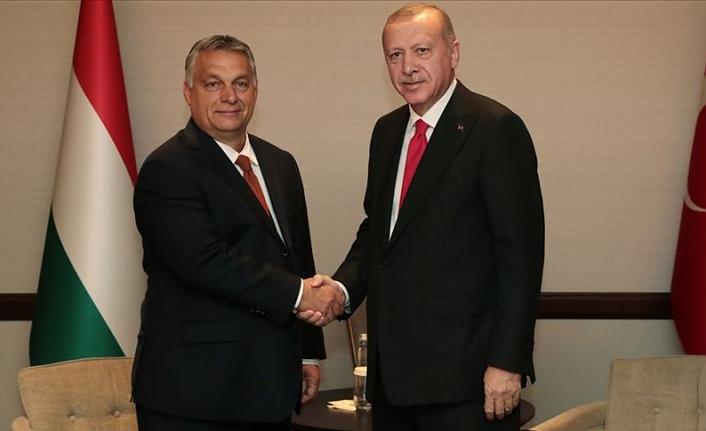 Cumhurbaşkanı Erdoğan Macaristan Başbakanı Orban'ı kabul etti