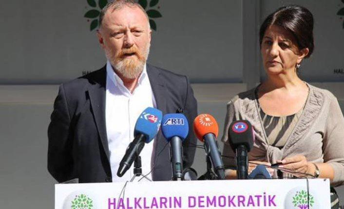 HDP'li eşbaşkanları hakkında soruşturma