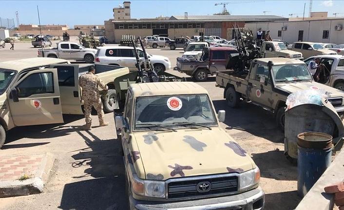 Libya'daki UMH güçleri Yermuk Kampı'nı yeniden ele geçirdi