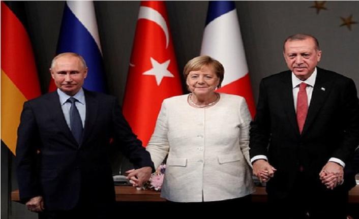 Merkel: Denge Rusya ve İran'ın lehine değişti