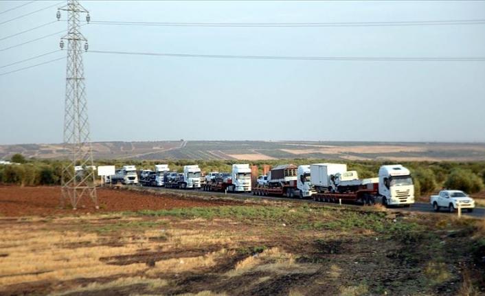 Suriye Milli Ordusu sınır hattına askeri birlik gönderdi